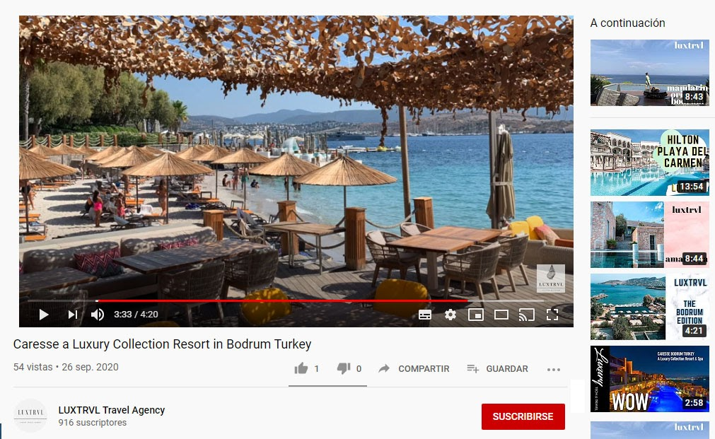 youtube luxtrvl
